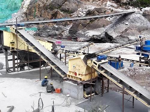 陕西石灰岩制砂生产线