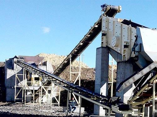 新疆花岗岩破碎生产线