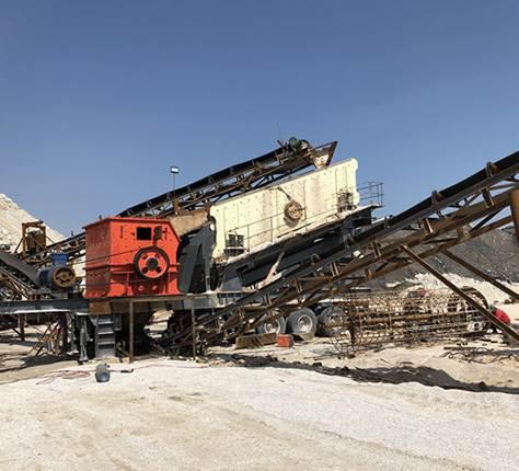 建筑垃圾破碎机站
